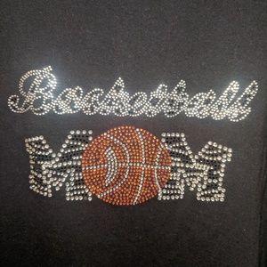 Basketball Mom t shirt, 2XL